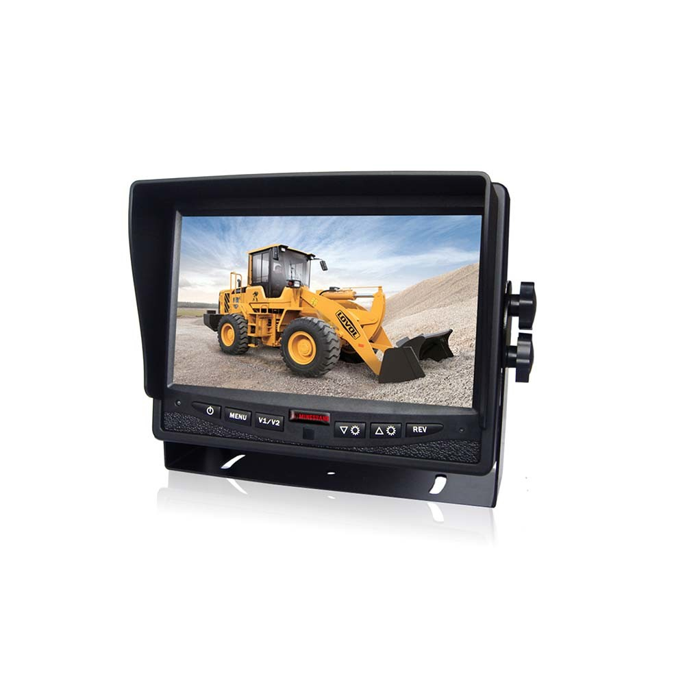 Private Model Car Monitor 7 Inches Digital TFT-LCD Monitor Camera System Parts for Volvo Truck