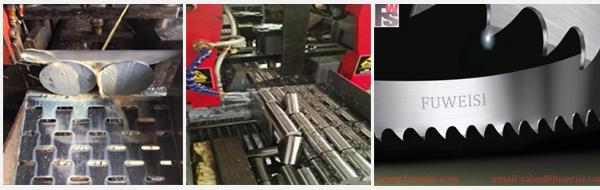 M51 Bimetal Band Saw Blade 27X0.9X4/6t for Steel Bar Cutting.