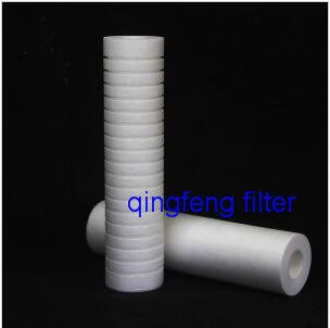 20inch 5um PP Spun PP Melt Blown Filter für die Wasserfiltration