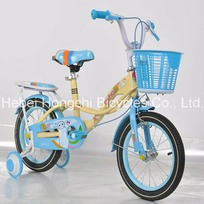 2016 The New Children Bike/ Good Quality Steel Frame Bike Children/Bicycle for Kids with Training Wheel