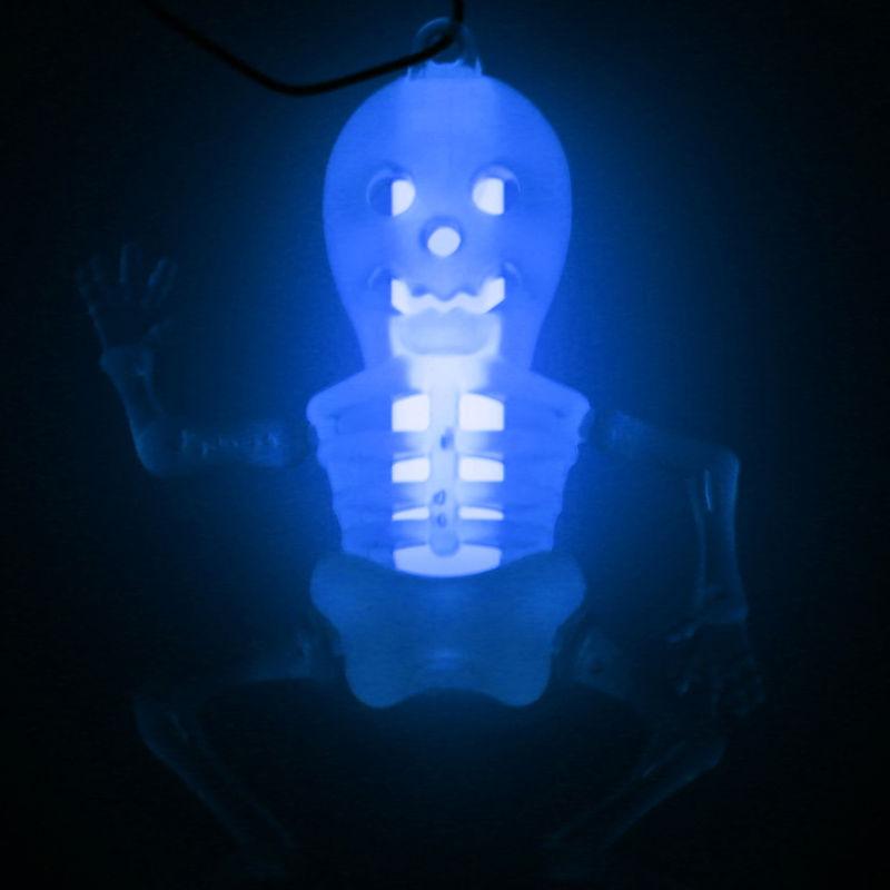 New Halloween Skeleton Glow in The Dark