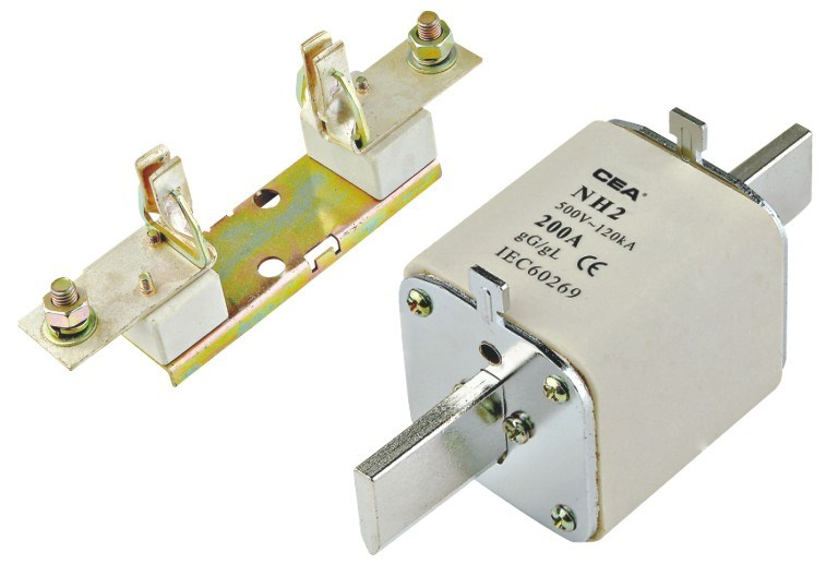 Nh Low Voltage Fuse and Base