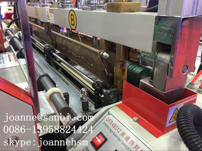 Full Automatic High Speed T-Shirt Bag Making Machine (BTHQ-450X2)