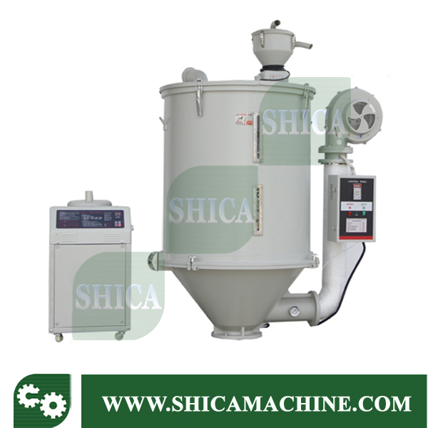 Shd-100 Hot Sale Plastic Granules Hot Air Dryer with Hopper