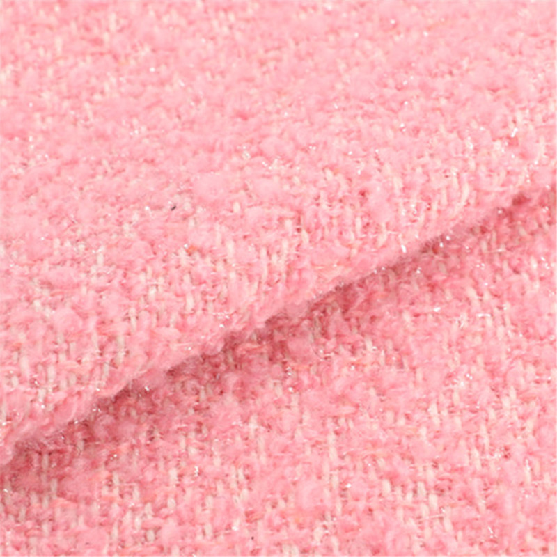20%Wool 80% Polyester Woolen Fabric for Women Garment