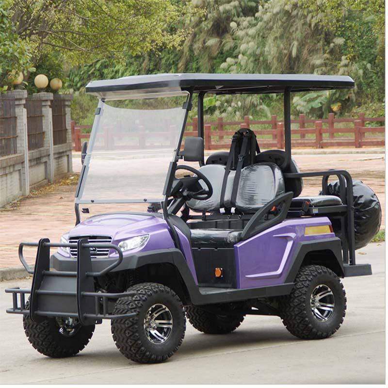 Hot Sale 4 Seats Battery Power Electric Golf Cart