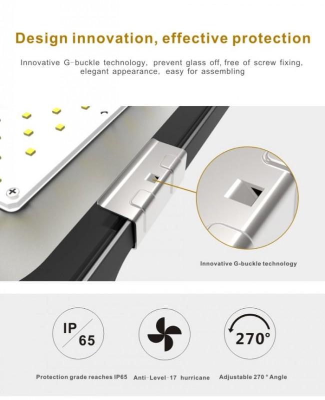 Philips Osram SMD Slim Aluminum Housing IP65 10W LED Floodlight
