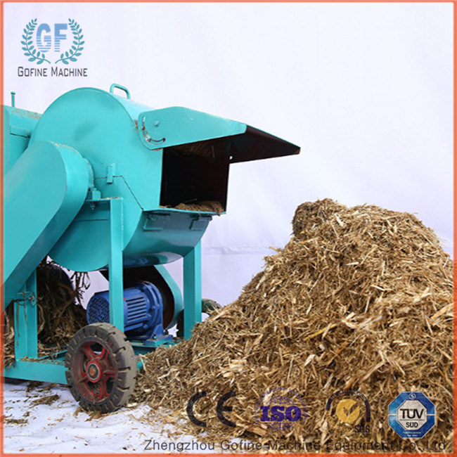 Cow Feed Straw Crusher Machine