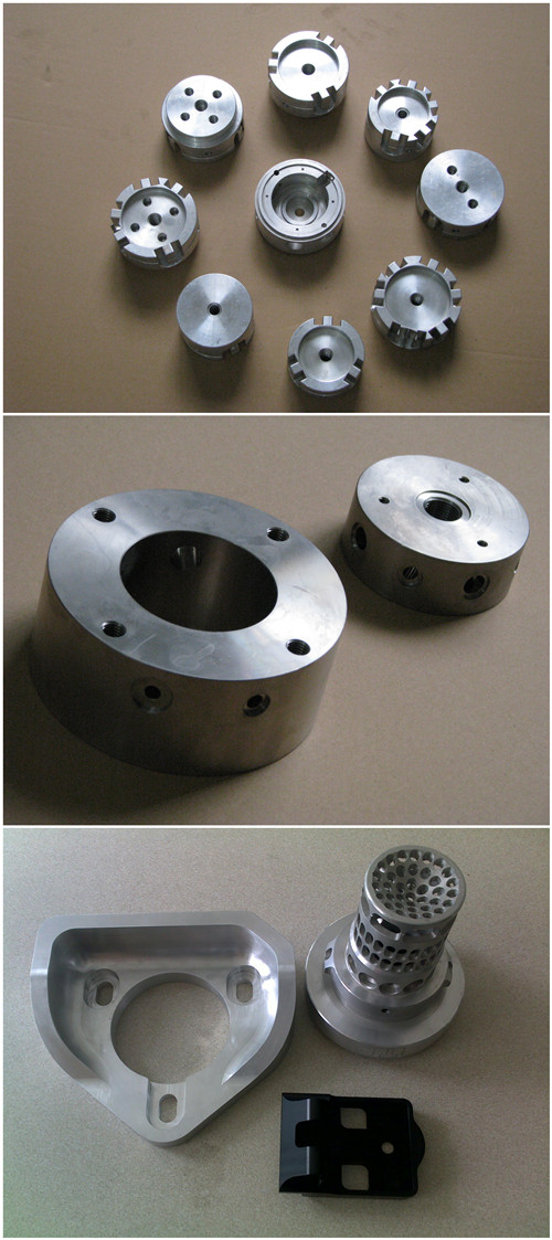 CNC Machining Part of Aluminum Milling Plate