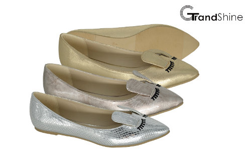 Women's Lovely Pointed Toe Rabbit Casual Ballet Shoes