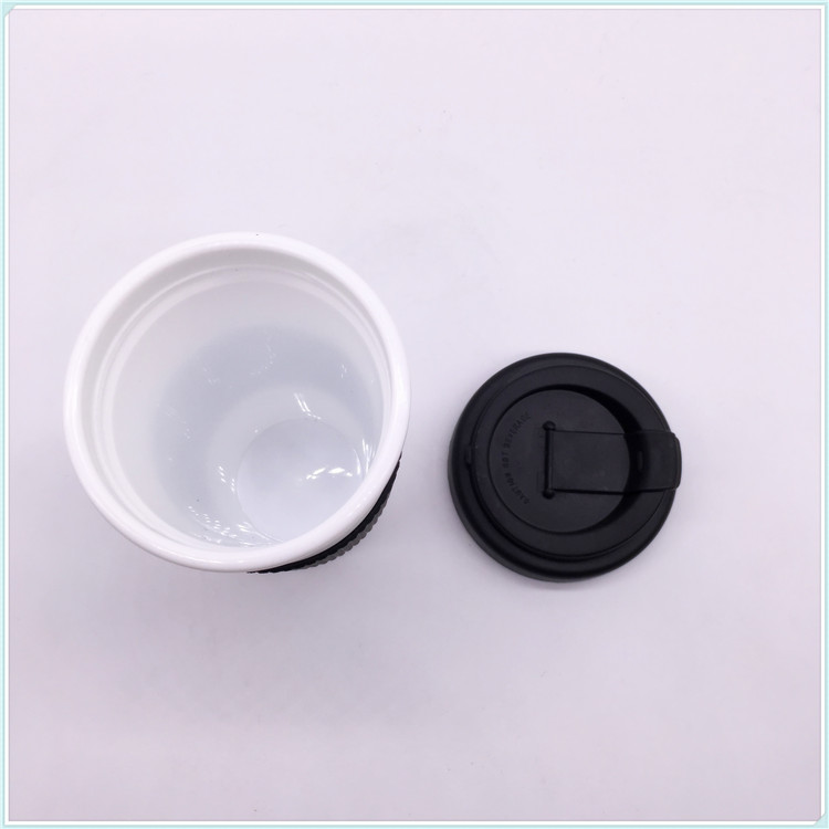Eco-Friendly Feature and Cups & Saucers BPA Free Plastic PP Coffee Mug with Lid