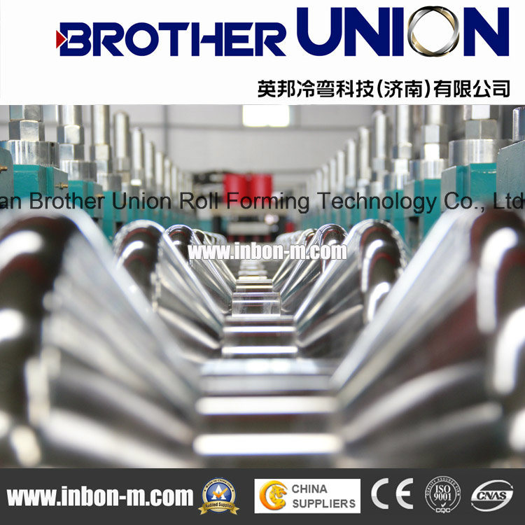 Fully Automatic Three Waves Guardrail Cold Roll Forming