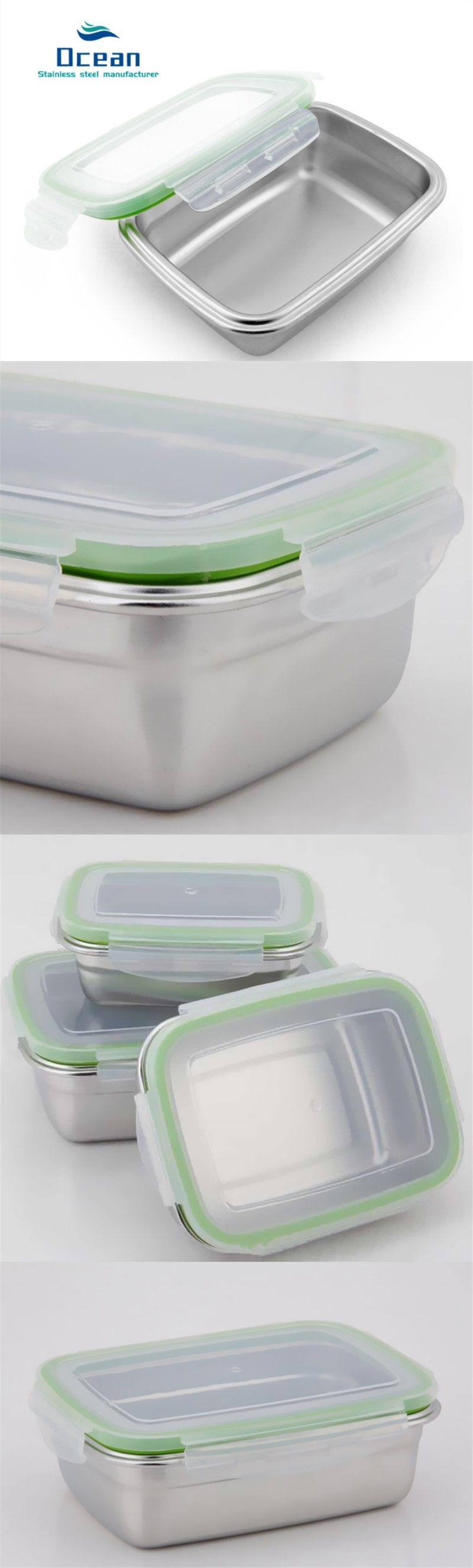 Stainless Steel Food Preservation Box Insulated Food Box (3)