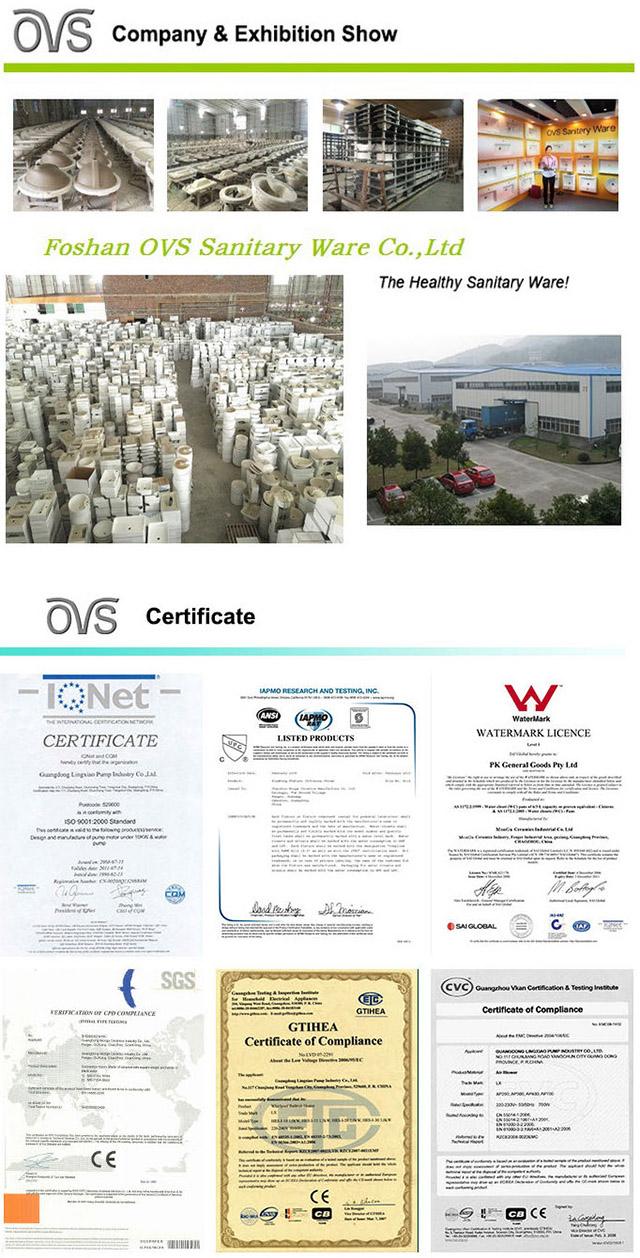 Quality Guarantee Smart Sanitary Ware Floor Mount Senor Urinal