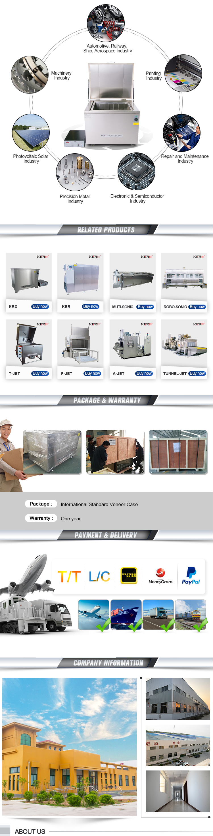 Heated Industrial Ultrasonic Degreaser for Parts Cleaning Washing