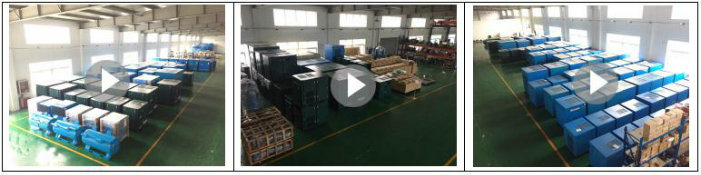 Oil Free Silent Electric Rotary Screw Air Compressor Made in China for Sale