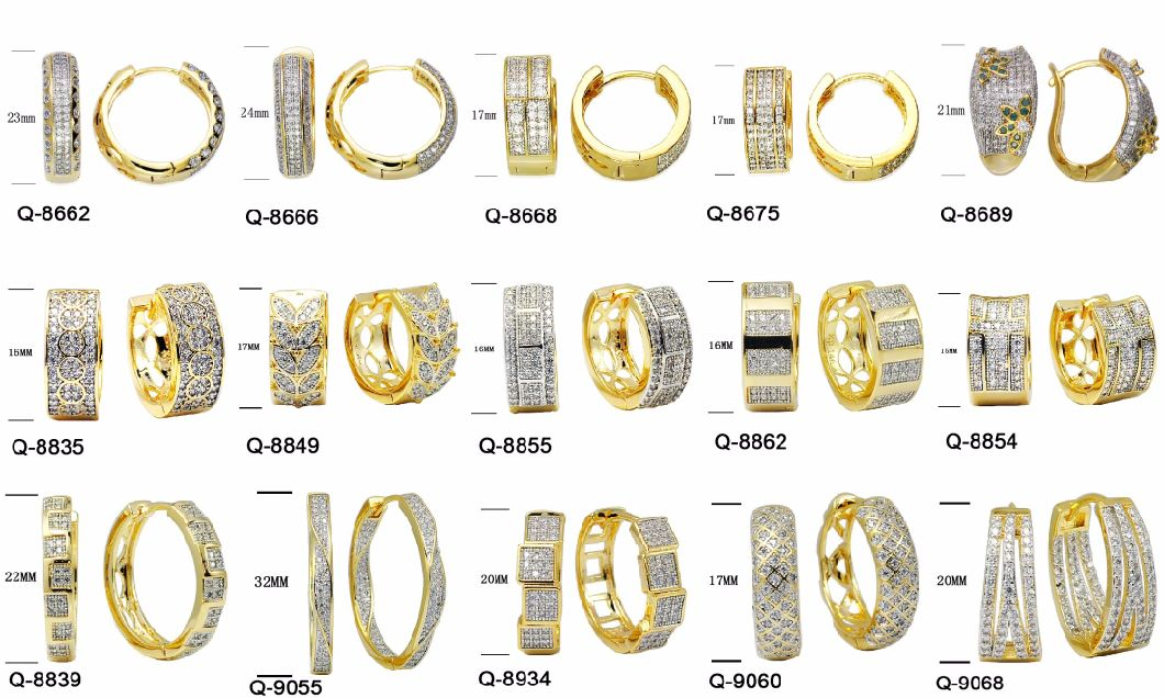New Design Silver Jewelry Earrings Factory Wholesale