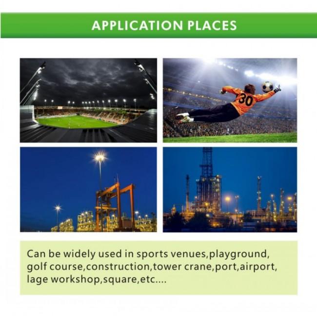 Outdoor Flood Light for Stadium Sport Court Field 115lm/W 400W 500W 1000W LED Floodlight