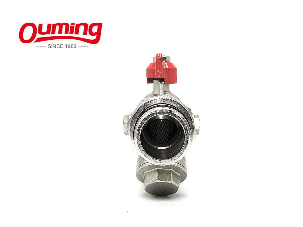 1/2 - 1 Inch Butterfly Handle Ball Valve with Y Strainer