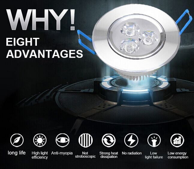 Downlight for Bedroom Decoration with RoHS