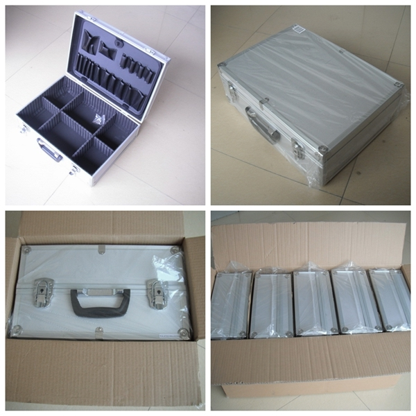 Custom-Made Aluminium Storage Case/Box Makeup Trolley Box Fashion Cosmetic Case