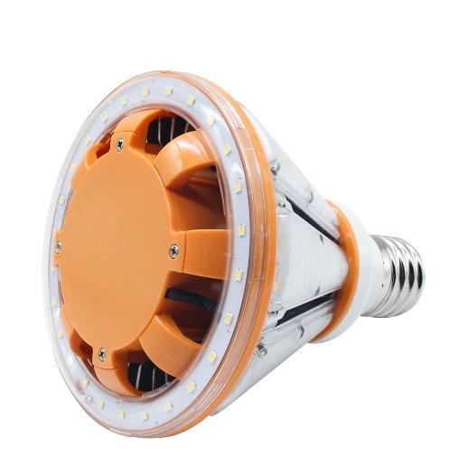 60W Post Top LED Bulb Down Shining Pyramid Corn Light