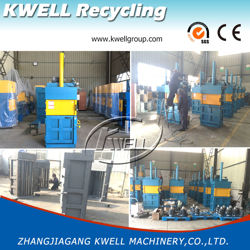 Hydraulic Driven Tire Baler/Tyre/Rubber Products Press Machine