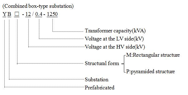 Ybm-Box-Type Substation