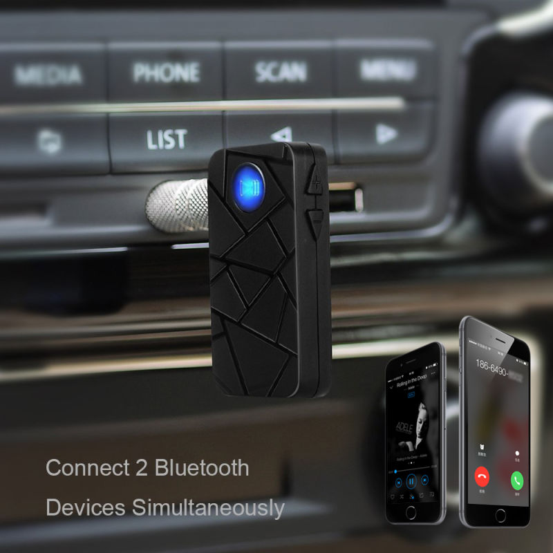 Hands-Free Bluetooth V4.1 Clear Talking Voice Car Bluetooth Kit