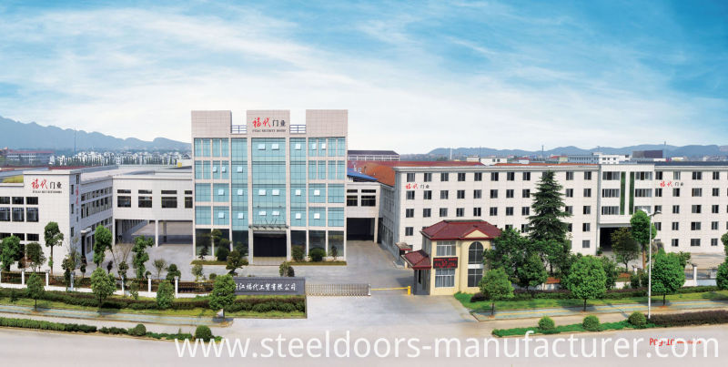 China Newest Develop and Design Single Steel Security Door (FD-515)