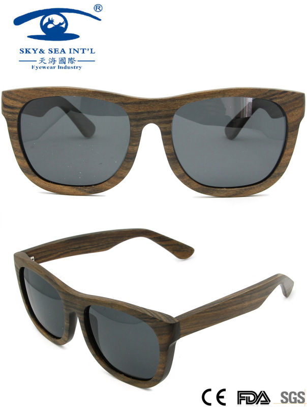 Famous Brand Wooden Sunglasses (KW002)