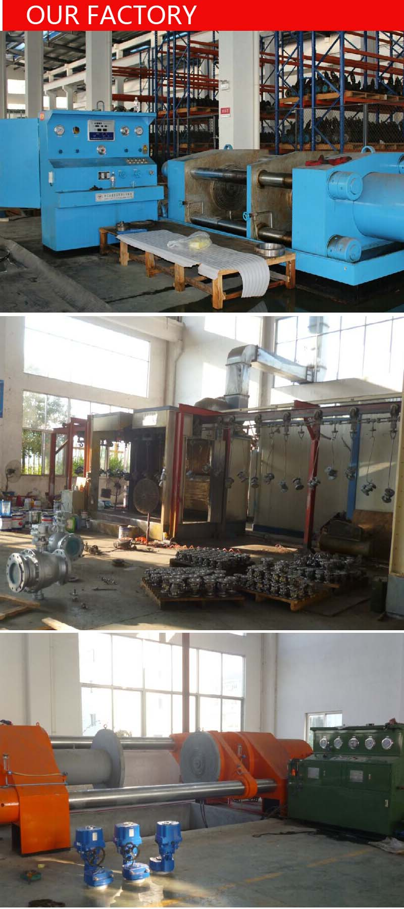 Big Size Stainless Steel Flanged Ball Valve