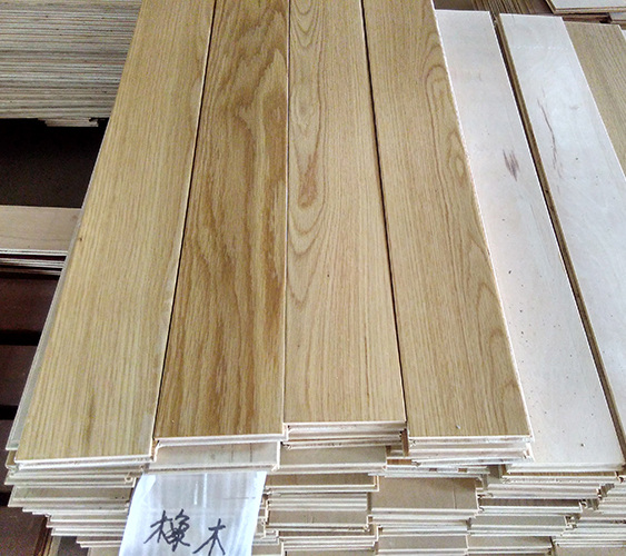 Multi-Layer Natural Color Oiled Oak Engineered Wood Flooring