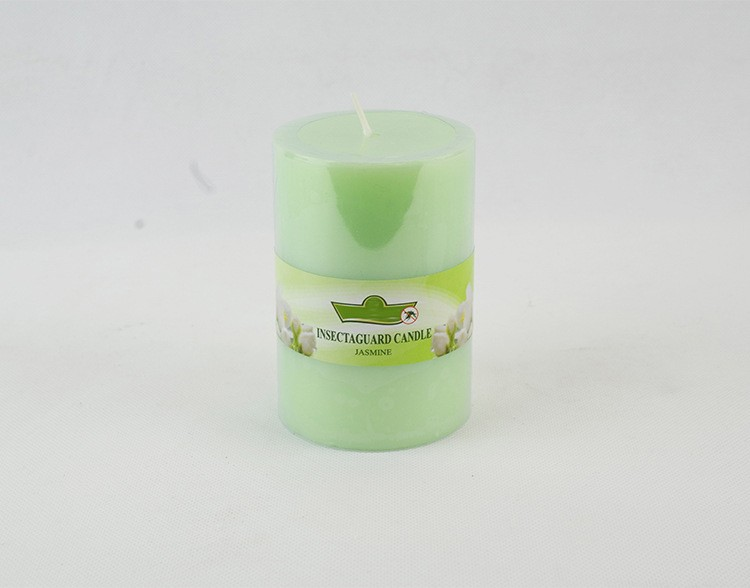 Natural Decorative Pillar Candles