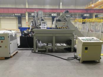 Y83L-250 Automatic Aluminum Shaving Chips Metal Briquetting Press