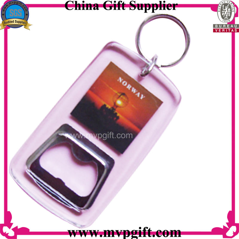 Acrylic Bottle Opener for Plastic Keychain