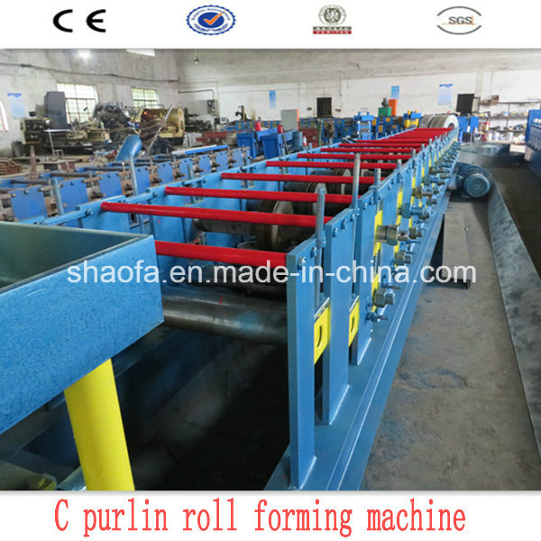 C Channel Roll Forming Machinery (AF-C80-300)