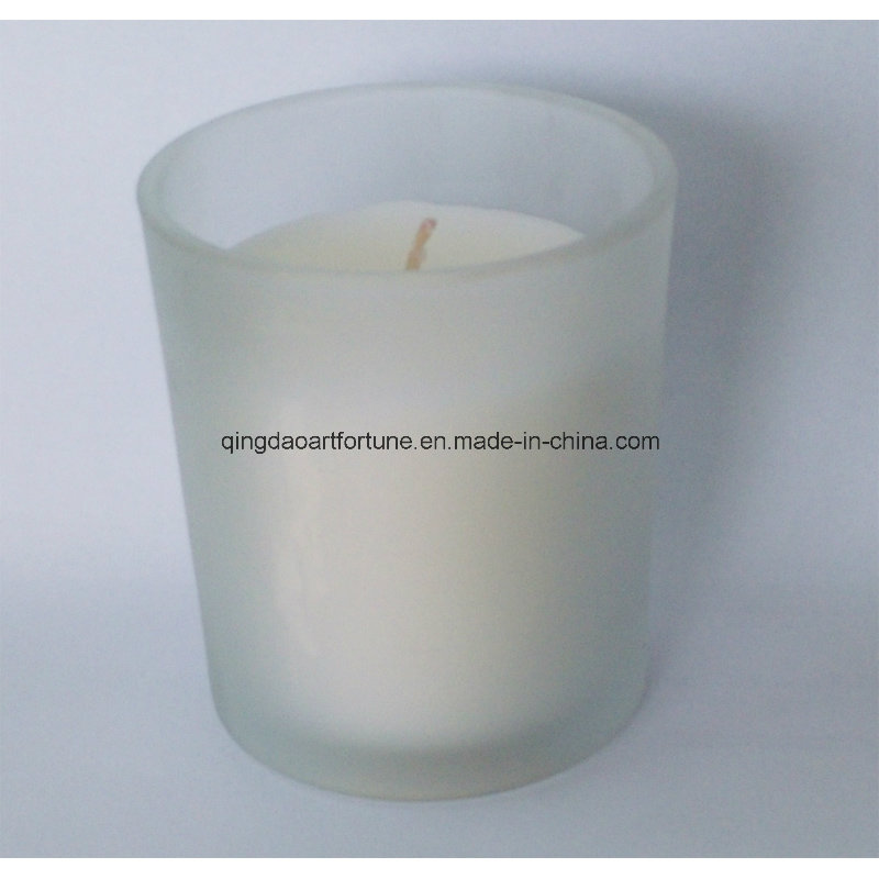 Glass Filled Votive Candle for Home Decor