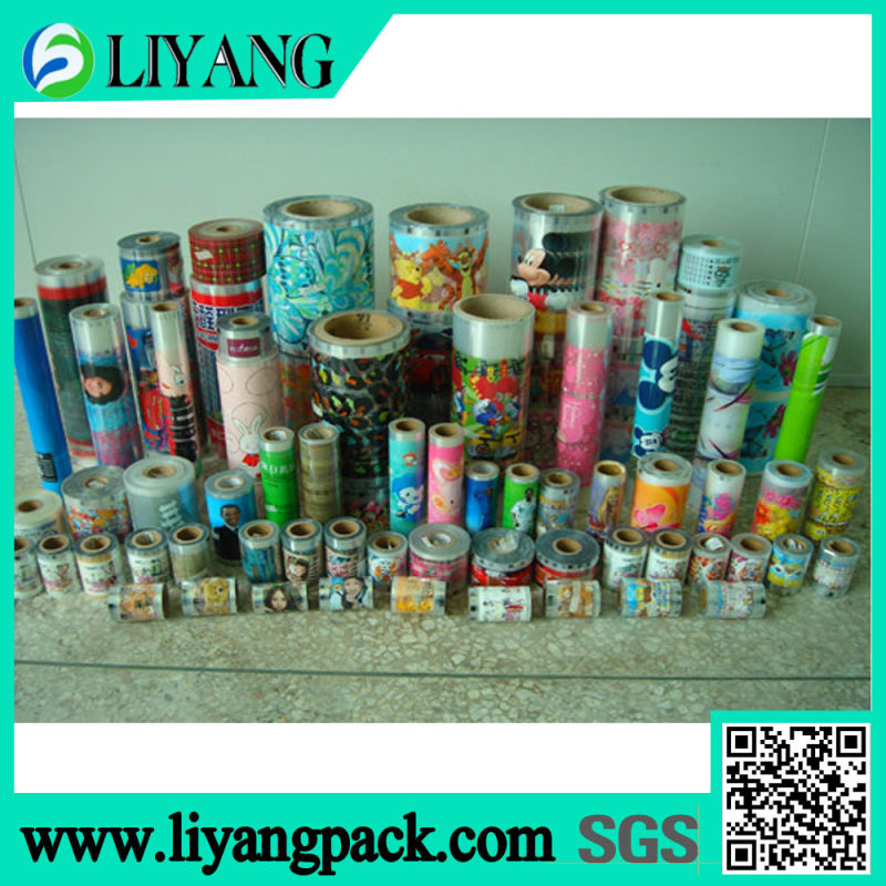 Water Cup, Heat Transfer Film for Plastic Cup