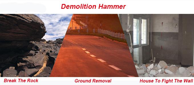Atec 65mm Hand Demolition Power Tools Breaker Hammer (AT9265)