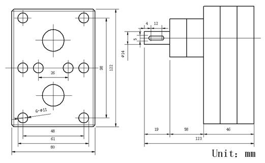 Hot Melt Gear Pump for PU Glue Dispenser Machine