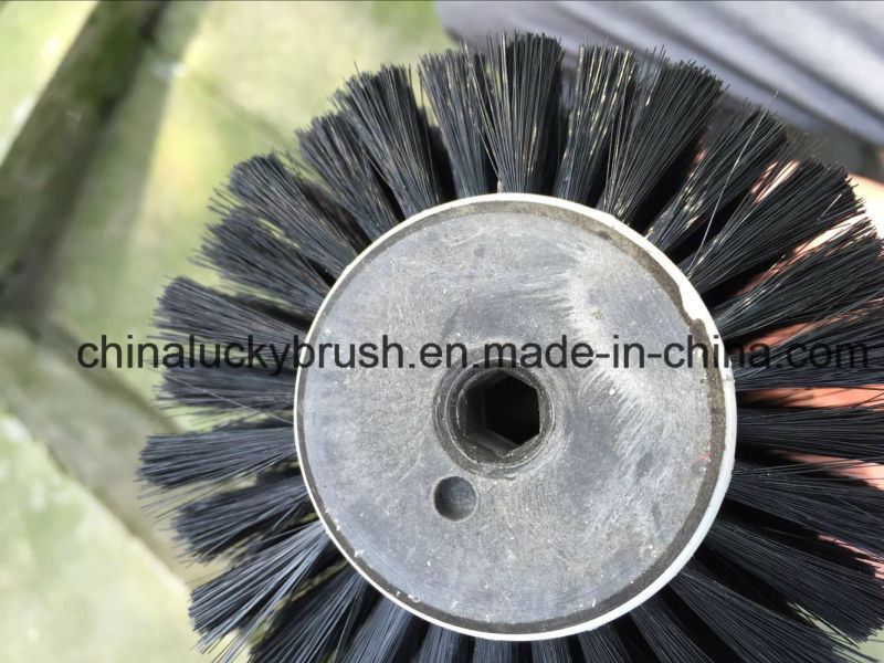 Hexagon Hole Roller Brushes with Cover for Cleaning (YY-604)