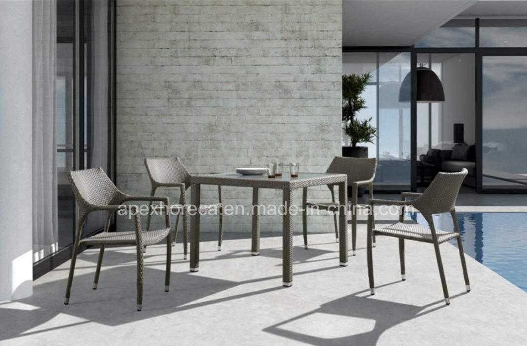 Outdoor Rattan Chair Garden Furniture Cafe Restaurant Chair