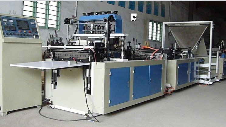 Automatic Non Woven Box Bag Making Machine