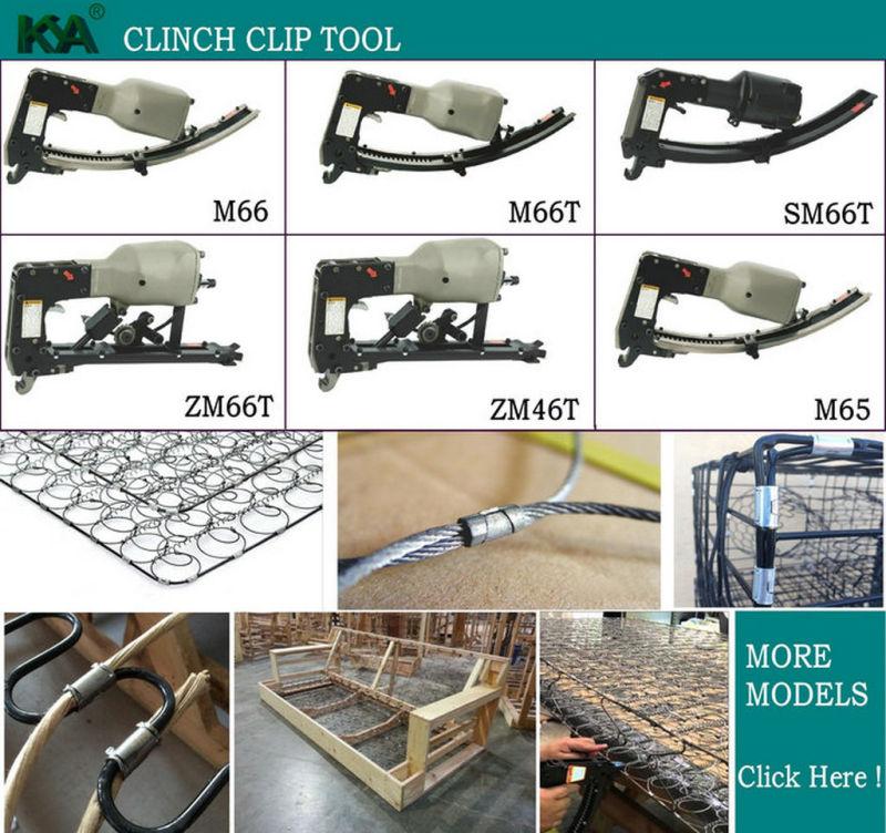 M46 Series Roll Clinching Clip