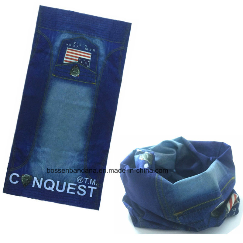 OEM Produce China Factory Microfiber Elastic UV Protection Multifunctional Headwear Tube Bandana Buff