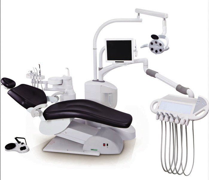DC5000 Luxurious Dental Chair Unit, Electric Dental Chair with Monitor