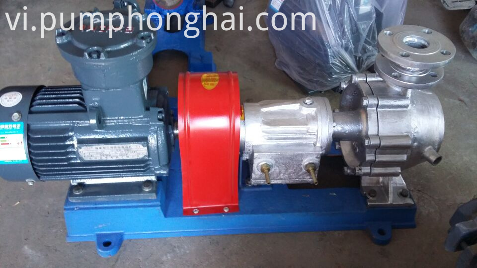 Stainless steel material pump with water-cooling equipment