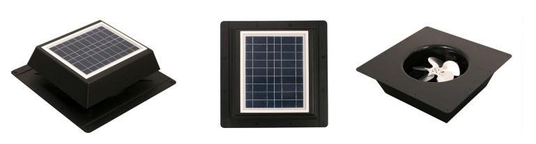 10W8in Solar Ventilator Solar Exhaust Fan