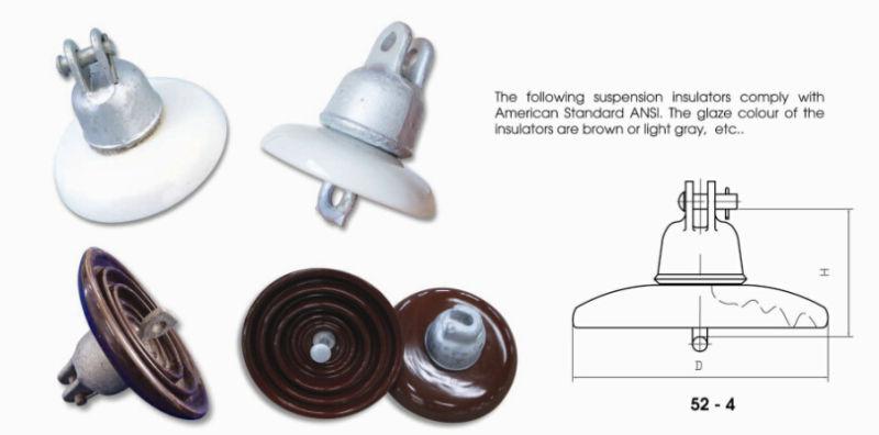 11 Kv Disc Suspension Insulator ANSI 52-3